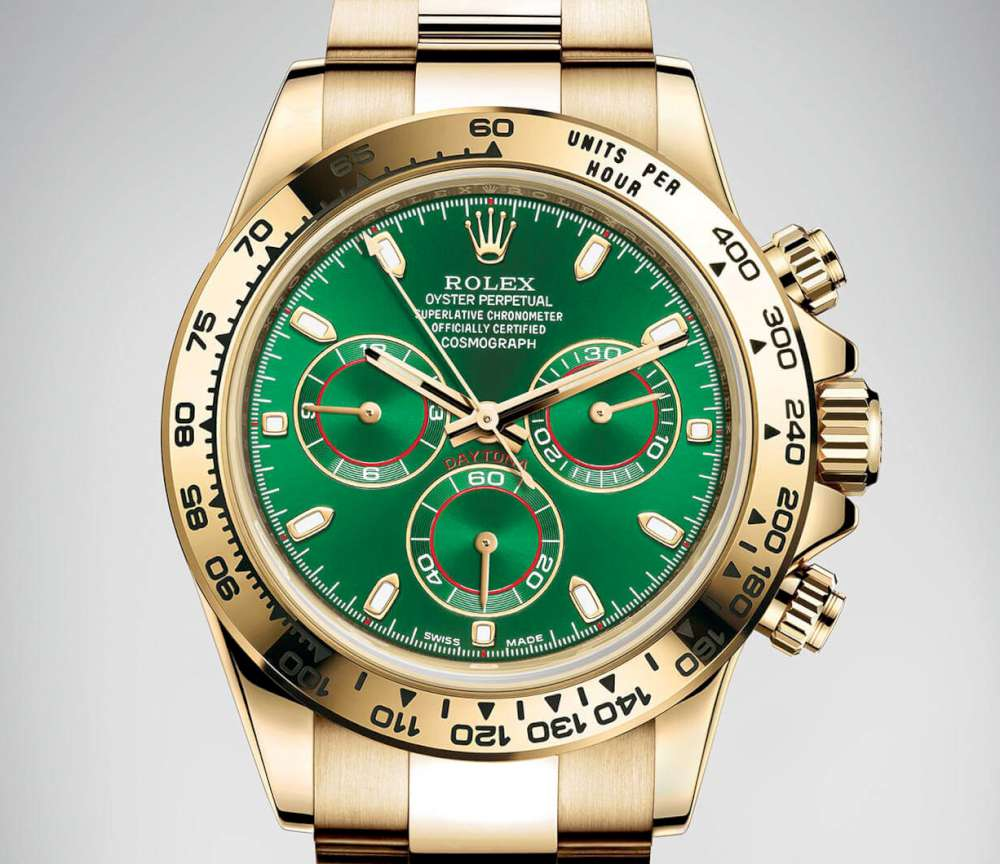Rolex Oyster Perpetual Cosmograph Daytona in yellow gold