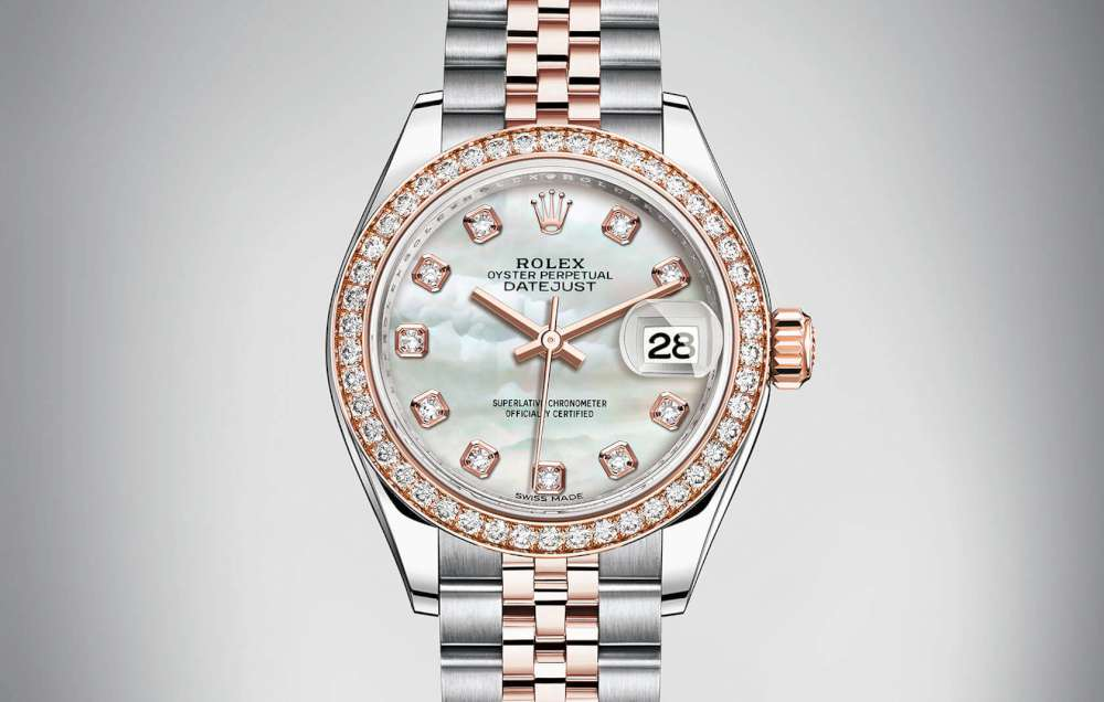 Rolex Lady-Datejust 28, reference 279381RBR