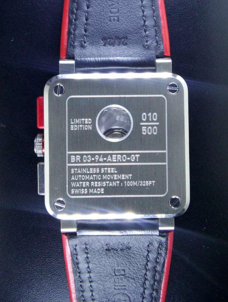 Bell & Ross BR 03-94 AeroGT chronograph caseback