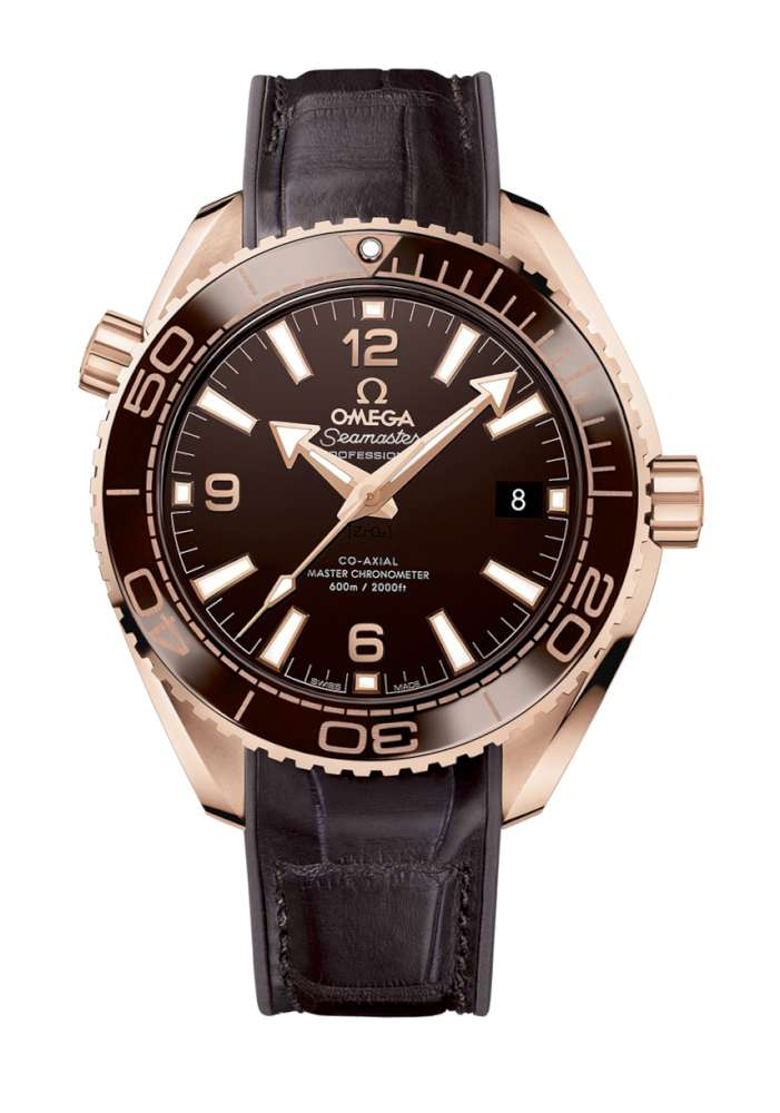 Omega Seamaster Planet Ocean 600m Chocolate Time Transformed