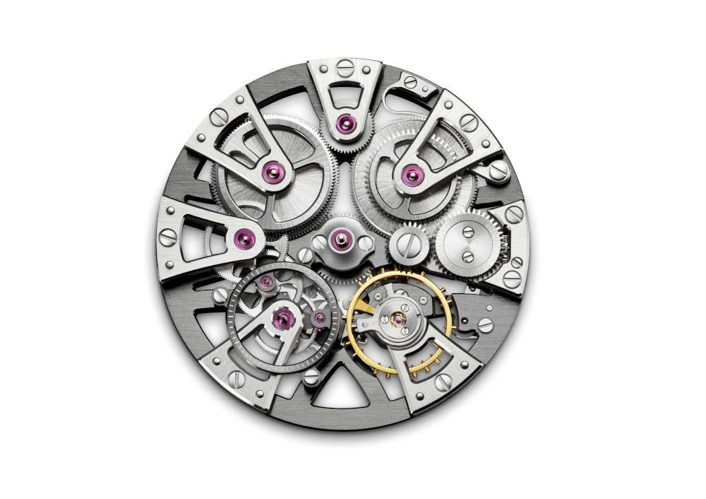 AS5101 movement, dial side