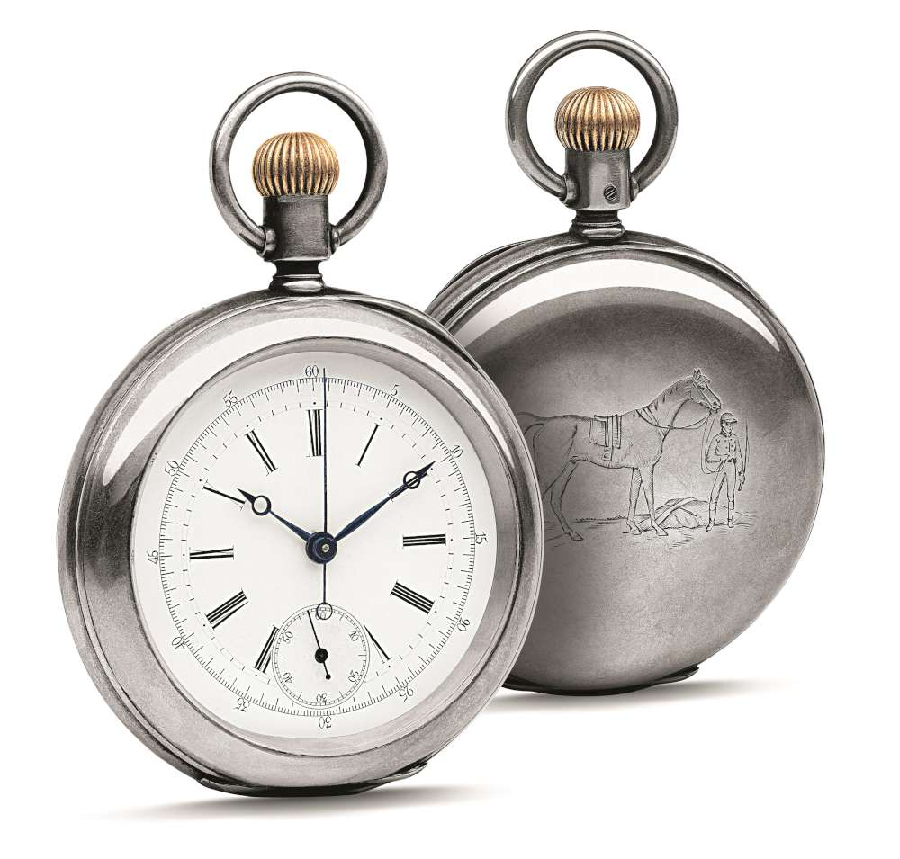 The 1878 pocket watch by Longinges, the origin for the new limited-edition piece