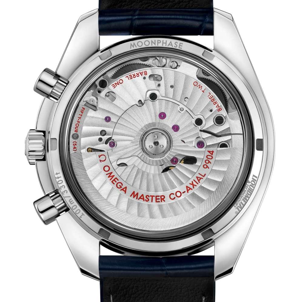 Omega Speedmaster Moonphase Master Chronometer Chronograph caseback