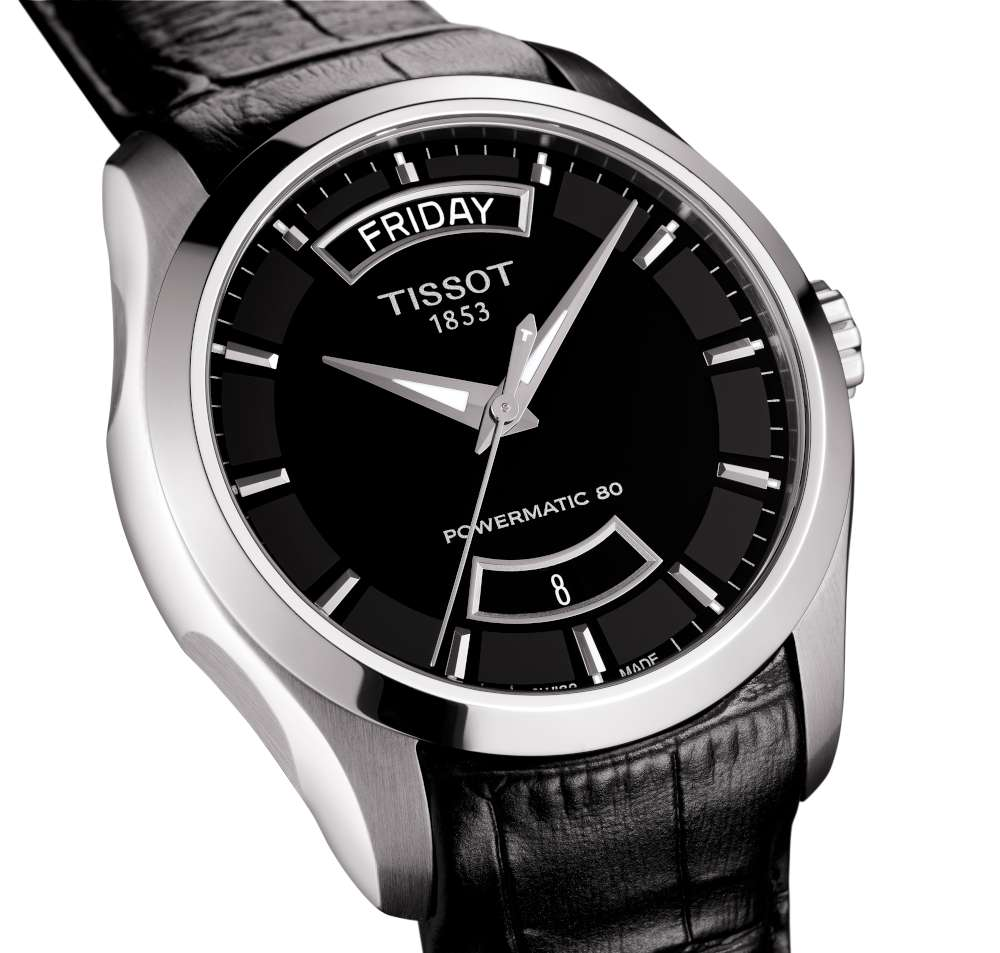Tissot Couturier Automatic Day-Date - Time Transformed cef7a4233a2