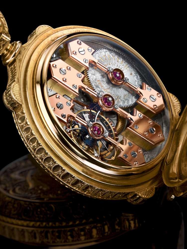 Girard-Perregaux Esmeralda Tourbillon, the museum piece