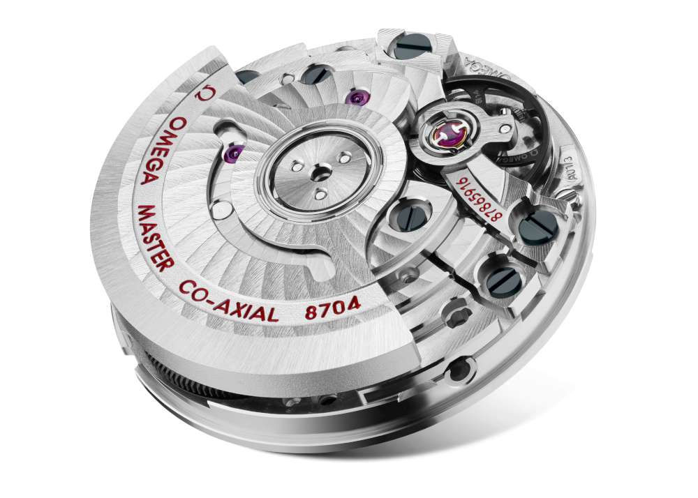 Omega co-axial movement 8704