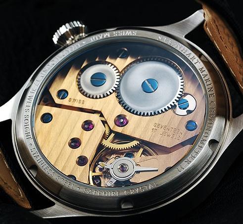 Steinhart Marine Chronometer 44, Unitas 6498-1 calibre