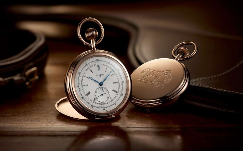 Longines Equestrian Pocket Watch Jockey 1878