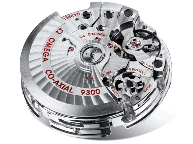Omega co-axial calibre 9300 movement