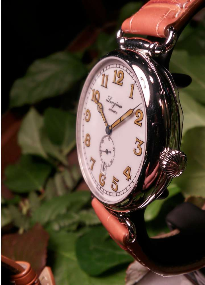 Longines Heritage 1918, reference L2.809.4.23.2/4, 41 mm