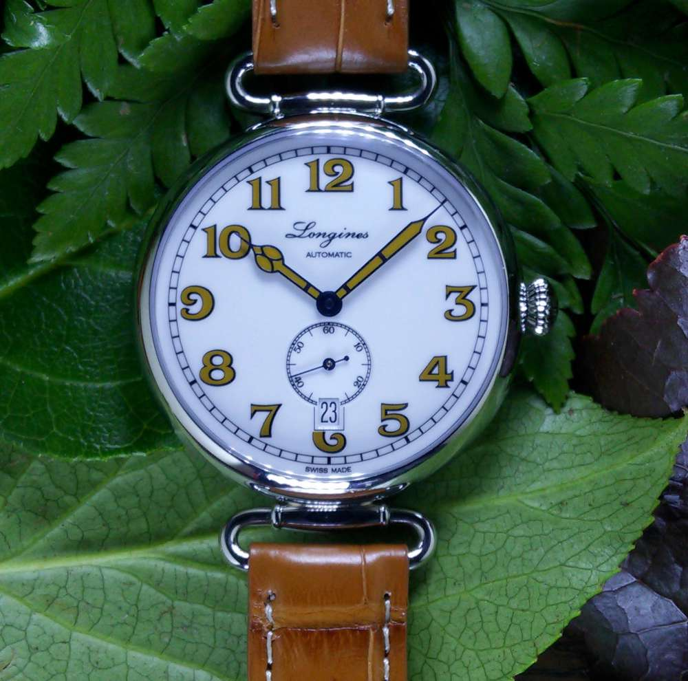 Longines Heritage 1918, reference L2.309.0/4.23.2, 38.5 mm