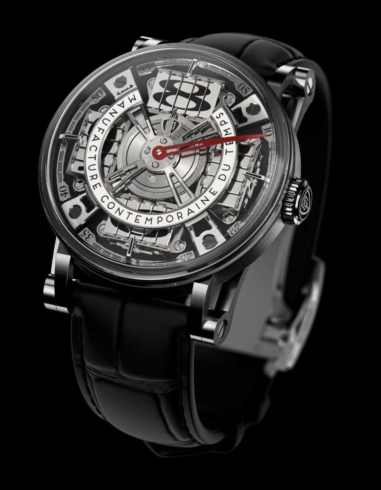 Manufacture Contemporaine du Temps Sequential Two S210, anthracite dial
