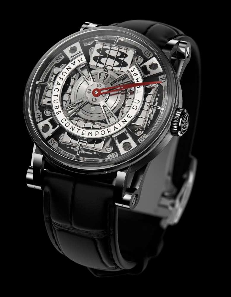 Manufacture Contemporaine du Temps Sequential Two S210, anthracite dial
