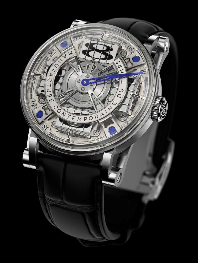 Manufacture Contemporaine du Temps Sequential Two S210, champagne dial