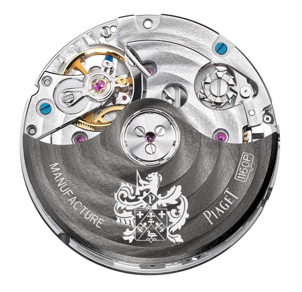 Piaget 1160P automatic chronograph movement