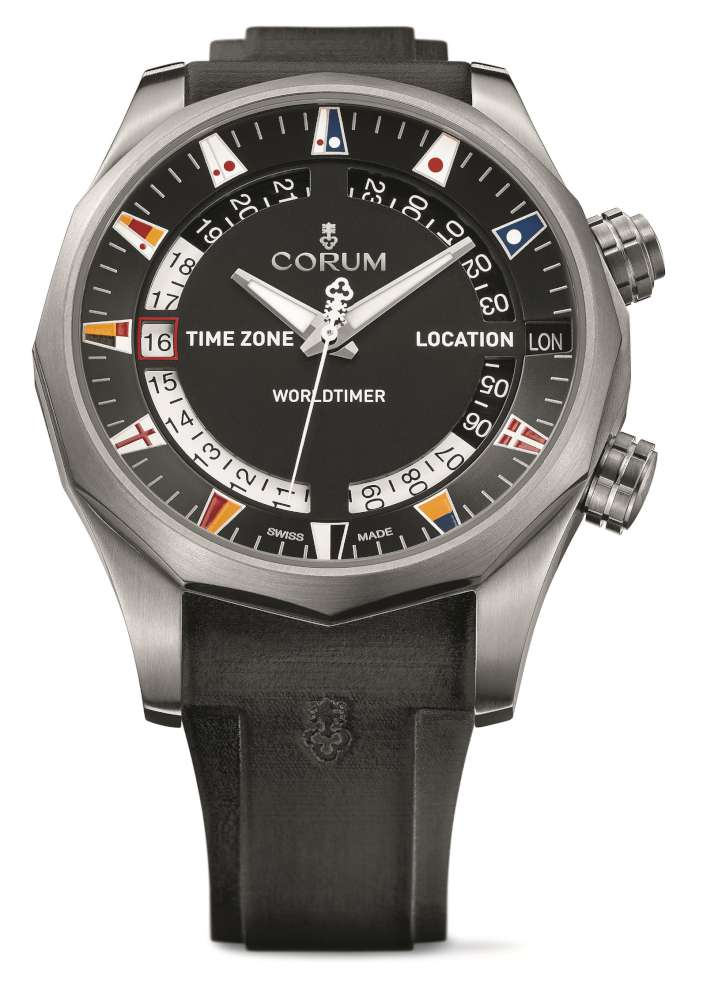 Corum Admiral's Cup Legend 47 Worldtimer