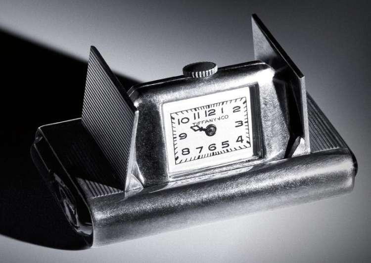 Tiffany 1940s travel clock