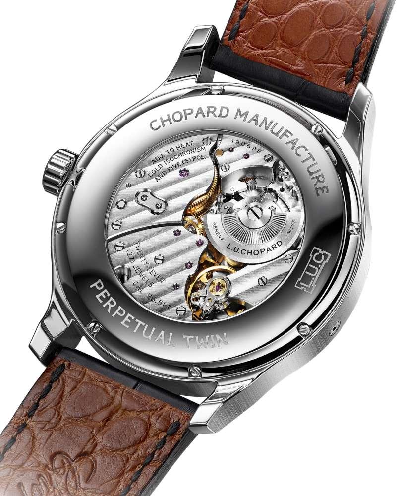 Chopard L.U.C Perpetual Twin caseback