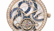 Montblanc Boheme ExoTourbillon Slim 110 Years anniversary edition reference 115939