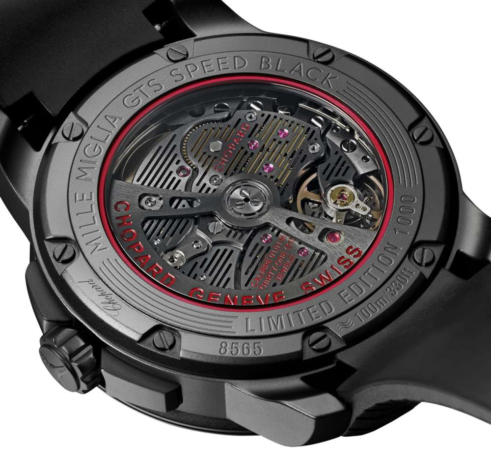 Chopard Mille Miglia GTS Automatic Speed black caseback