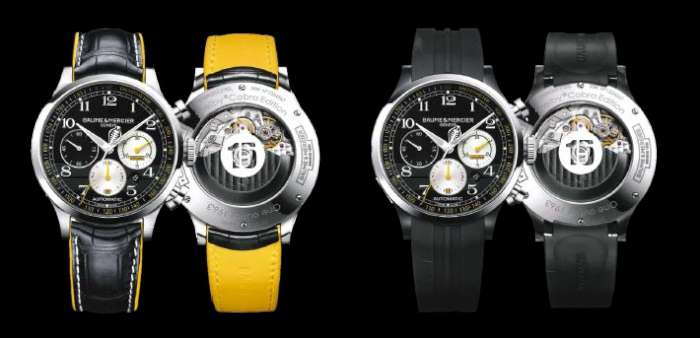 Baume & Mercier Capeland Shelby Cobra 1963, references M0A10282 (left) and M0A10281
