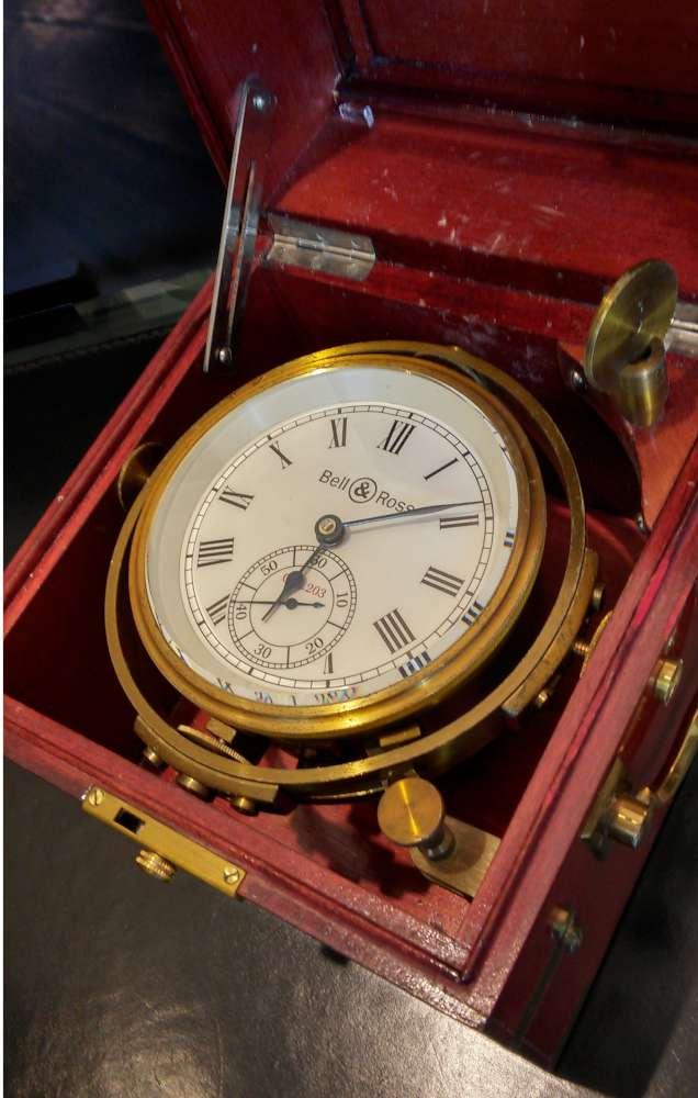 Marine chronometer by Bell & Ross