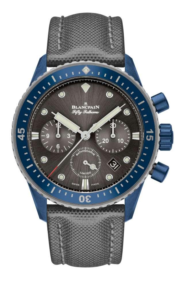 Blancpain Fifty Fathoms Bathyscaphe Chronographe Flyback Ocean Commitment II