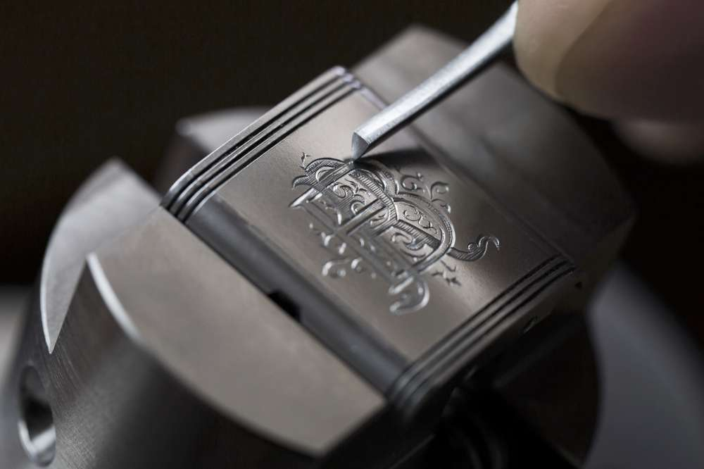 Customized engraving on a Jaeger-LeCoultre Reverso Classic