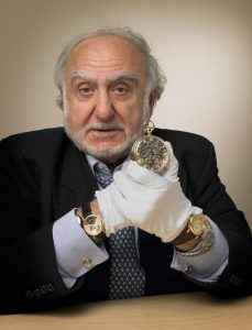Nicolas G. Hayek presents the replica Marie Antoinette watch, reference 1160