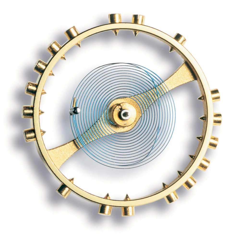 A Breguet balance spring, image courtesy of Breguet