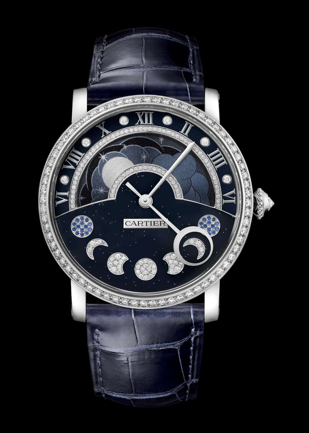 Rotonde de Cartier Day/Night Retrograde Moon Phases