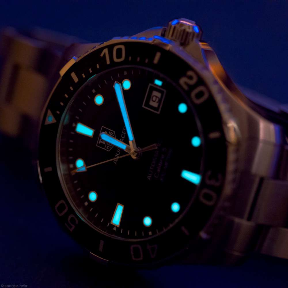TAG Heuer Aquaracer, photo courtesy of Andreas Hein/flickr.com