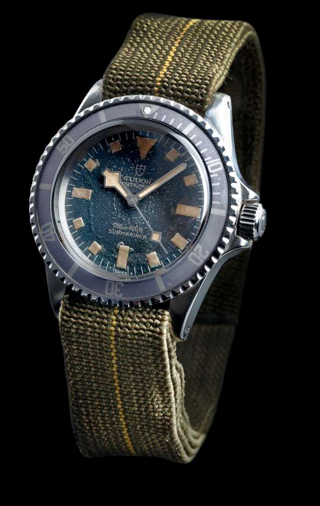"1977 Tudor Oyster Prince Submariner ""Marine Nationale"""
