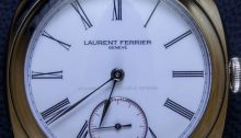 Laurent Ferrier Galet Classic Square Double Balance-Spring Tourbillon