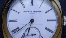 Laurent Ferrier Galet Classic Square Double Balance-Spring Tourbillon