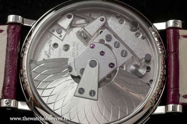 Caseback of the Tradition Dame