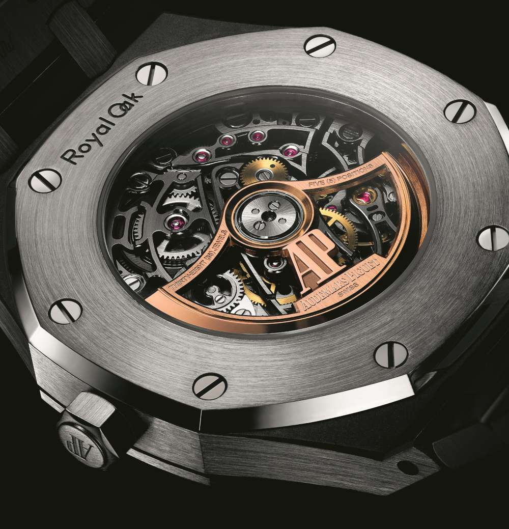 Audemars Piguet Royal Oak Double Balance Wheel Openworked, caseback