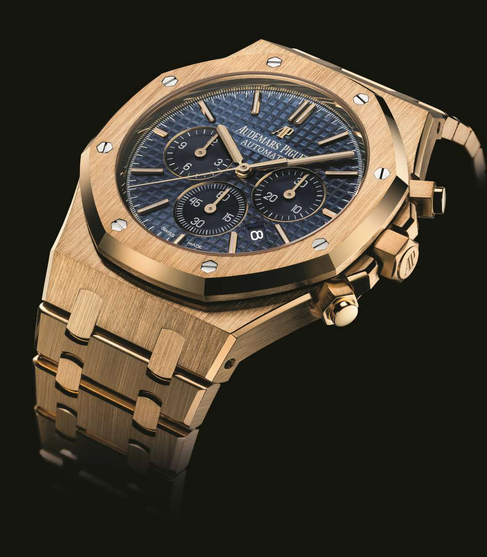 AP Royal Oak Chronograph blue dial replica