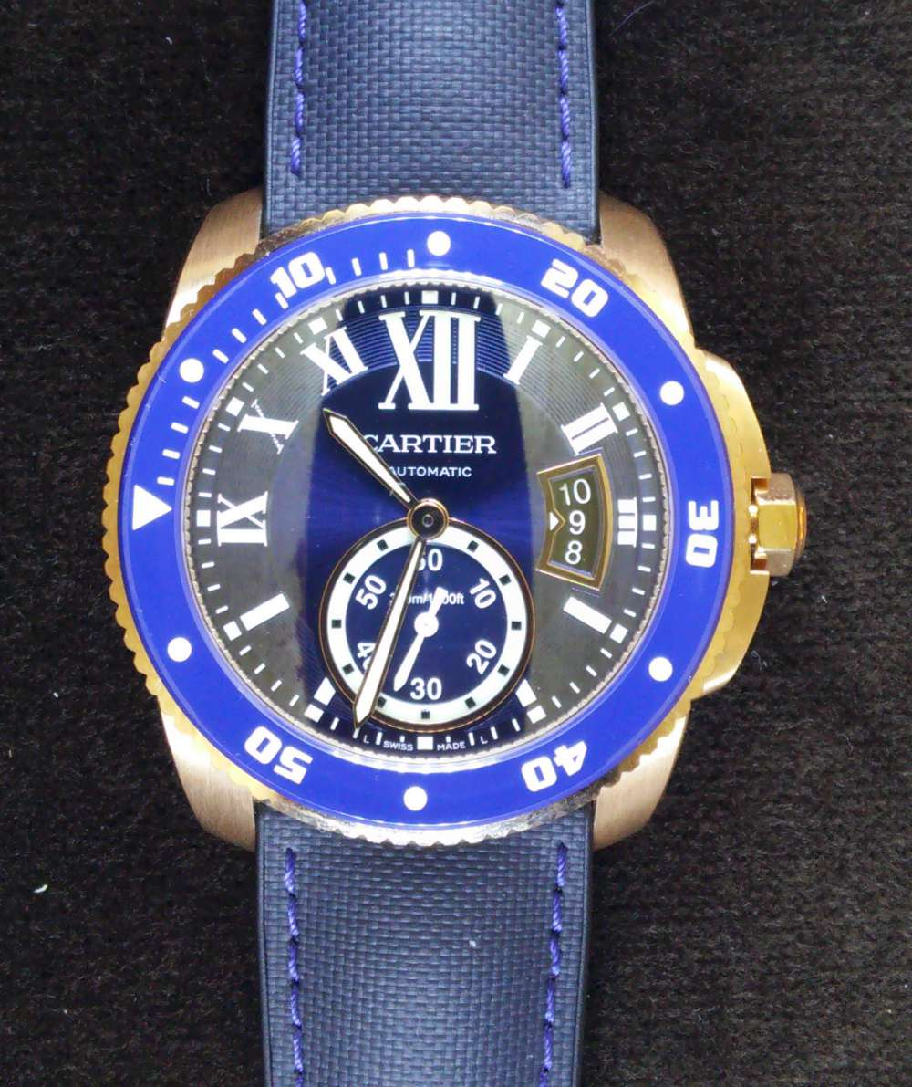Calibre de Cartier Diver gold