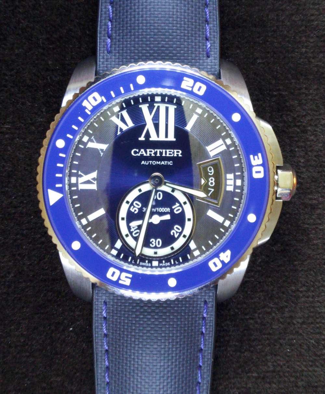 Calibre de Cartier Diver steel