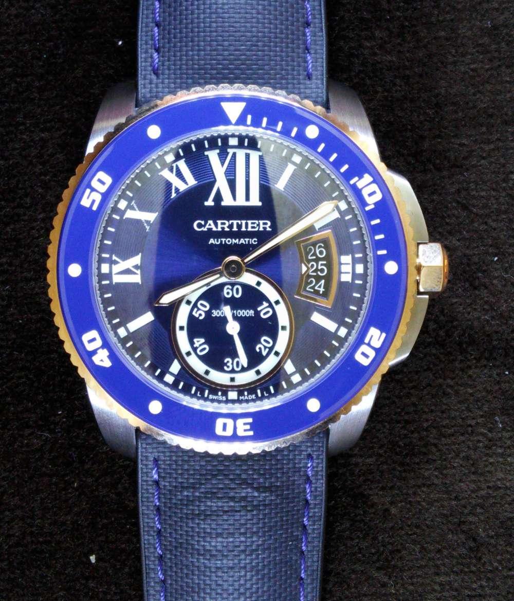 Calibre de Cartier Diver steel and gold
