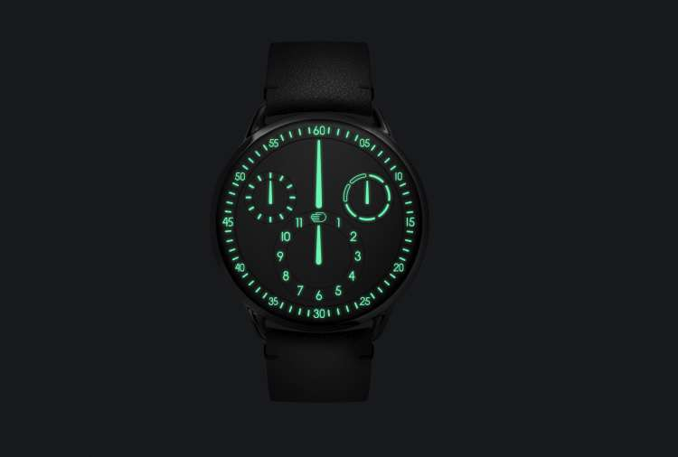 Ressence Type 1, SuperLuminova