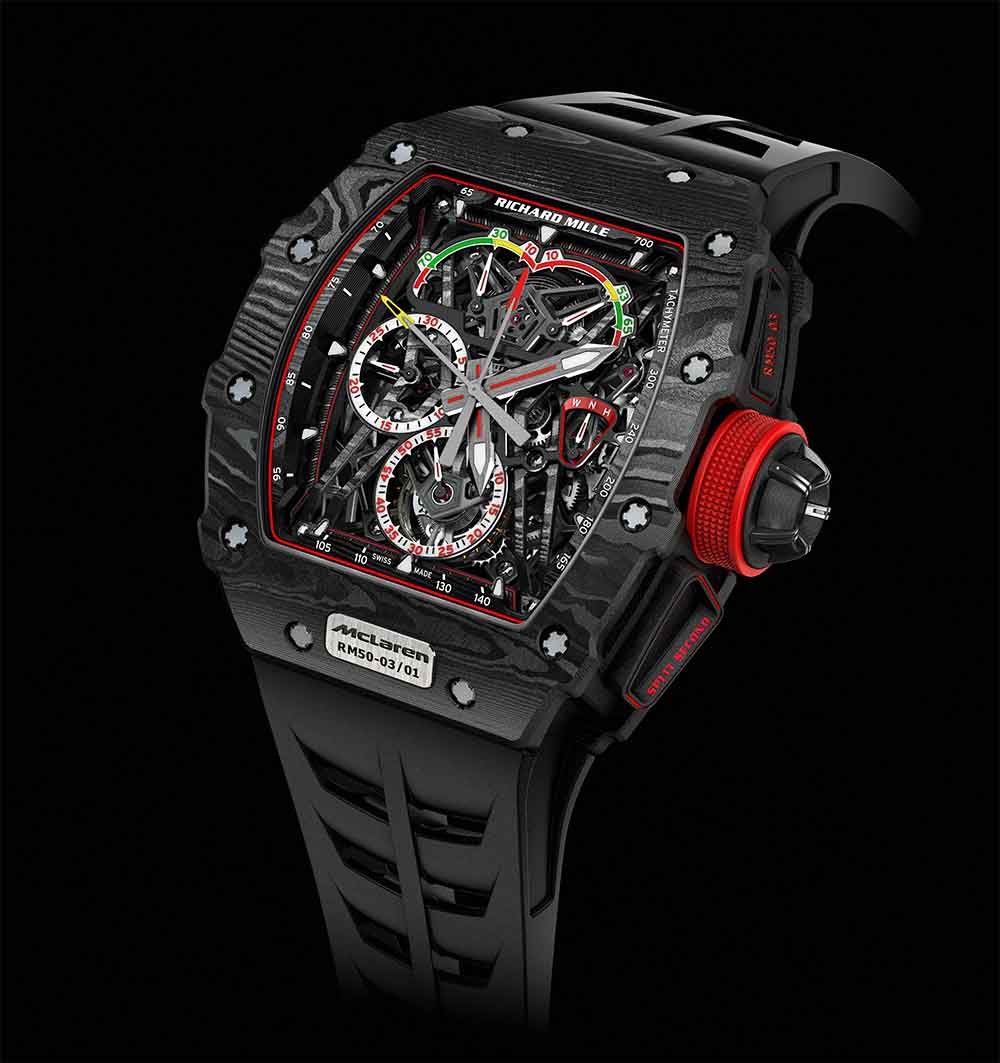 Richard Mille RM 50-03 Tourbillon Split Seconds Chronograph Ultralight Mclaren F1