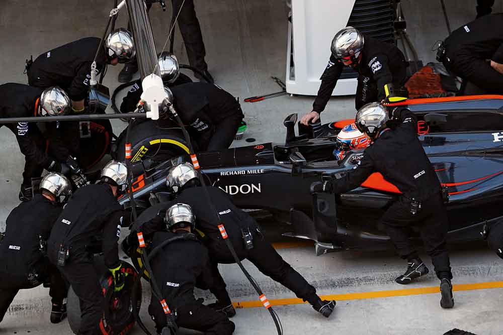Richard Mille and McLaren