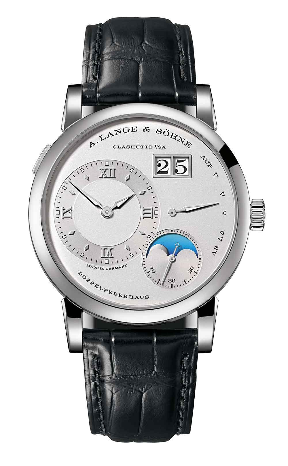 A. Lange & Söhne Lange 1 Moon Phase, platinum