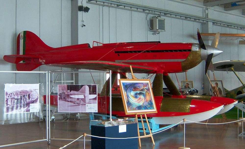 MC-72 at the Museo Storico dell'Aeronautica Militare, Vigna di Valle, Rome