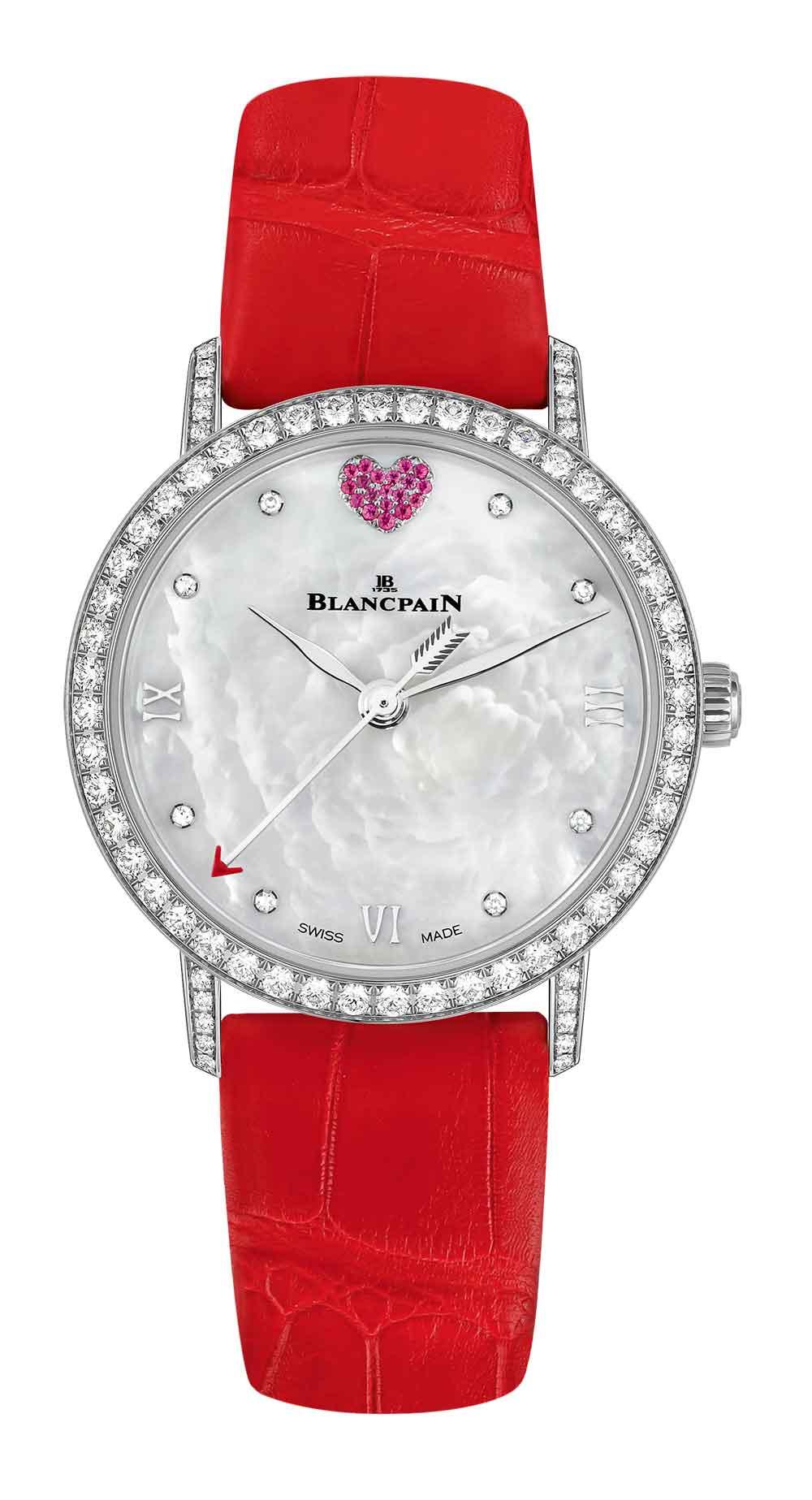 Blancpain Saint-Valentin 2017 reference 6104-4654-99A