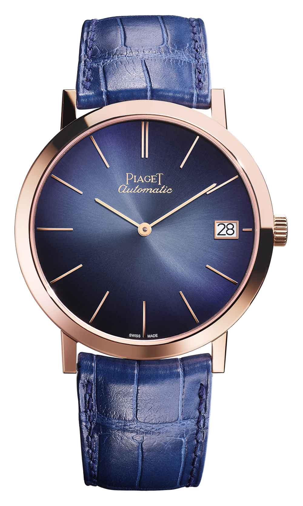 Piaget Altiplano 40 mm with blue dial, G0A42051