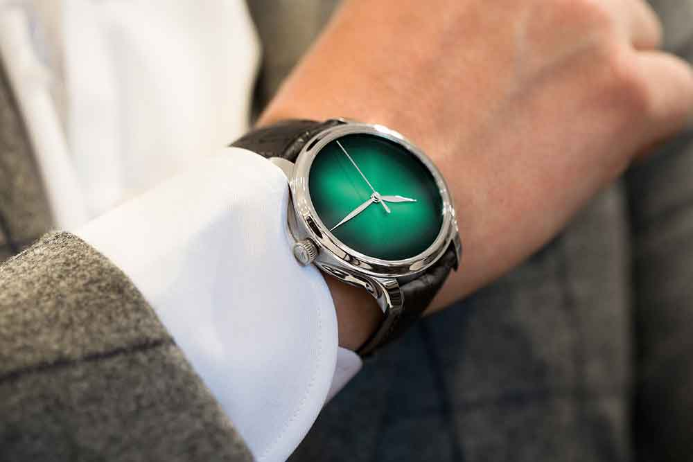 H. Moser Endeavour Concept Cosmic Green Limited Edition