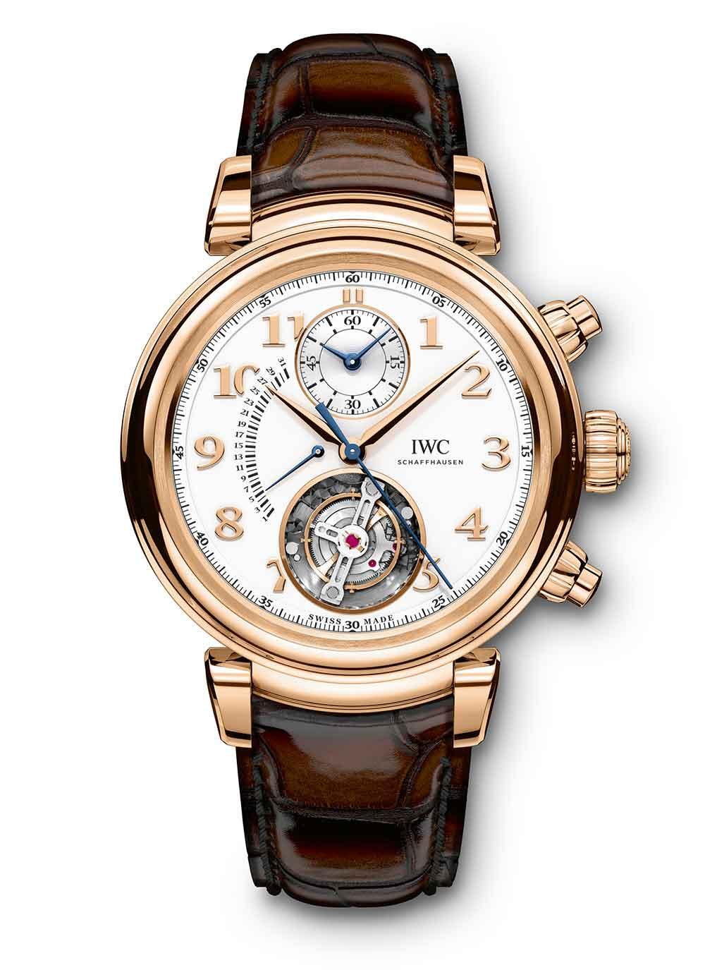 IWC Da Vinci Tourbillon Rétrograde Chronograph, reference IW393101
